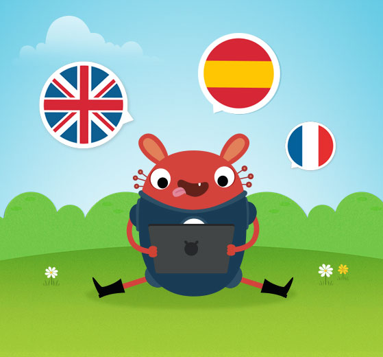 applications langues pour les enfants